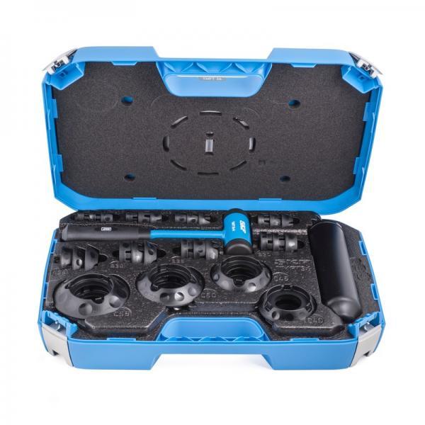 Slide Hammer Dent Puller Tool Kit Wrench Adapter Axle Bearing Hub Auto Set 17PCS #1 image